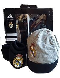 Adidas Real Madrid Gift-Set Baby Beanie Baby Schuhe Neu