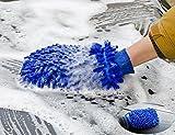 Zantec Microfiber Auto Küche Haushalt Waschen Waschen Reinigung Handschuh Mit