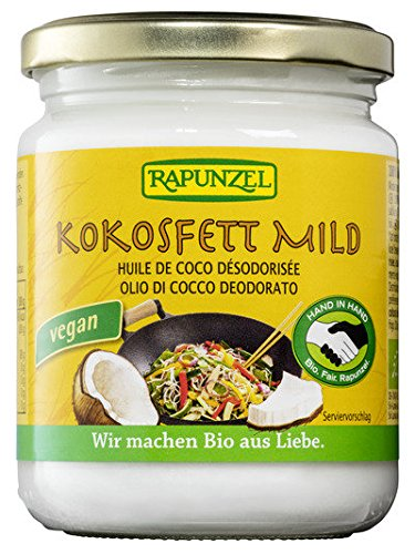 Rapunzel Kokosöl Rapunzel Bio Kokosfett mild (6 x 200 gr) im Test