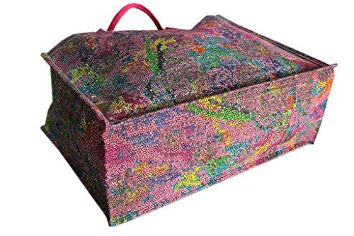 Borsa mare Gian Marco Venturi donna moda mare l.mosaica 44331 fuxia