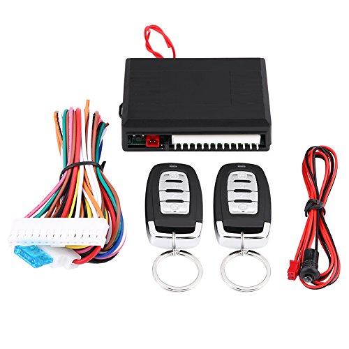 Qiilu Auto Keyless Entry System Türschloss Zentralverriegelung Fernbedienung Kit Universal Universal-keyless-entry-system