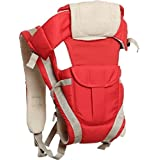 Ineffable Baby Carrier Shoulder Belt Sling Backpack Baby Holding Strap Adjustable Carry Bag Baby Carrier  (Red, Front carry facing out)