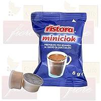Cialde Capsule Ristora MINICIOK Compatibili LAVAZZA Espresso Point - Confezione da 50 Capsule - Lavazza Espresso Point Capsula Macchina