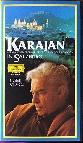 Preisvergleich Produktbild KARAJAN IN SALZBURG - A Film by Susan Froemke,  Peter Gelb und Deborah Dickson