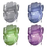 Fabric Panel Wall Clips, Standard Size, Assorted Metallic Colors, 20/Pack by Advantus