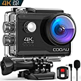 COOAU 4K Action Cam 20MP WiFi