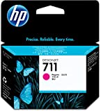 HP CZ131A 711 29ml Ink Cartridge for Designjet T120/T520 Large Format Inkjet Printers - Magenta