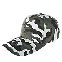 WeiMay camuflaje gorra de béisbol cadete ejército gorras lavado algodón ejército militar capo camuflaje