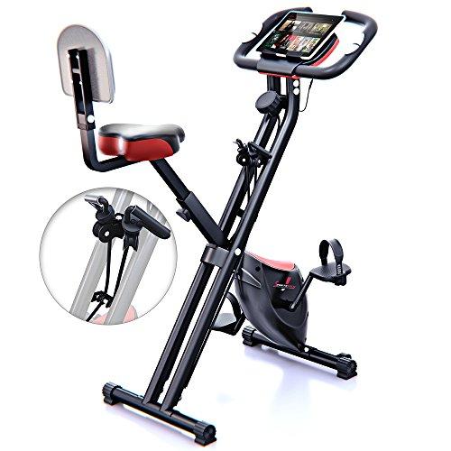 Hometrainer - Sportstech F-Bike X100 Fitnessfahrrad mit patentiertem Zugbandsystem