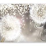 murando Papier peint intissé 350x256 cm Décoration Murale XXL Poster Tableaux Muraux Tapisserie Photo Trompe l'oeil pissenlit nature Fleurs éclat b-A-0074-a-a