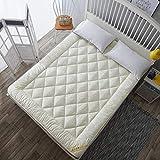 ZY&DD Weiche matratze,Gepolsterte Klappbare matratze,Hypoallergen KomFürt Schlafen pad Für Schlafsäle Hotel Schlafzimmer-B 180x220cm(71x87inch)