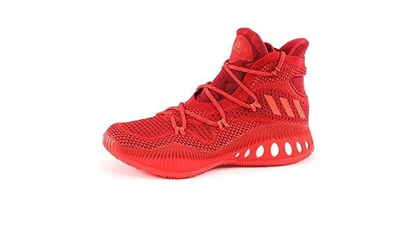 Adidas scarpe da basket crazy explosive primeknit rosso e