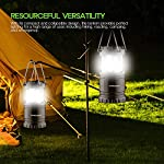 [2 PACK] Camping Lantern- Sahara Sailor Ultra Bright LED Lantern- Collapses - Suitable for: Hiking, Camping, Emergencies, Hurricanes, Outages - Super Bright - Lightweight - Water Resistant 106