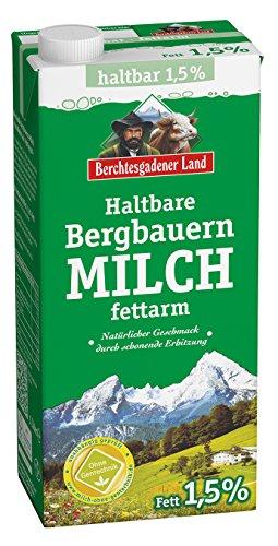 Preisvergleich Produktbild Berchtesgadener Land Haltbare Bergbauern-Milch 1.5% Fett,  1 l