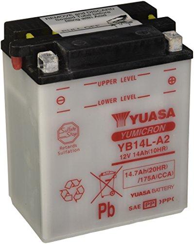 YUASA BATTERIE YB14L-A2 aperto senza acido