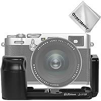 First2savvv Kamera Solide Aluminium L-förmigen vertikalen Schnellwechsel platte für Fujifilm Fuji X100F, LLX-X100F-01