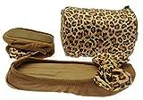 Faltbare Ballerinas Im Leo Print Modern Und Bequem Hausschuh Im Angesagten Leoparden Muster Geschenk Mitbringsel Adventskalender (Größe EUR 39)