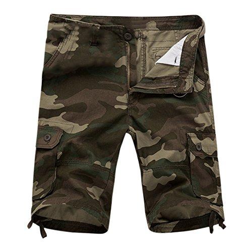 Hrph Mode Sommer Männer Military Shorts Cargo Camo Casual Baggy Taktische Armee Camouflage Kurze Hosen Hosen