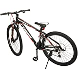 Cosmic KC0049 Cosmic Trium 21 Speed Steel Gear Bicycle, Men's 27.5-inch (Black)