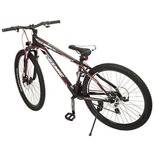 cosmic kc0049 cosmic trium 21 speed steel gear bicycle, men's 27.5-inch (black) Cosmic KC0049 Cosmic Trium 21 Speed Steel Gear Bicycle, Men's 27.5-inch (Black) 51PlUpUFqYL