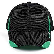 Nonbak gorra cap mesh casual running tejido transpirable logo bordado  Unisex 3 colores (Negro be35b528e0b