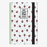 Legami Agenda 18 Mesi Settimanale Fotografica Medium Con Notebook 18 Mesi 2018/2019 - Ladybug
