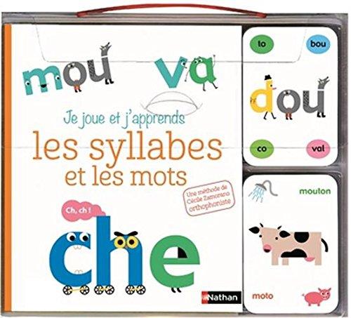 Je joue et j'apprends les syllabes et les mots - coffret cartes et livre - Dès 5 ans par Cécile Zamorano