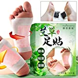Lieja 10pz/Detox Foot Pads, corpo tossine adesivo, Fitoterapia Wormwood piede patch eliminare le impurità