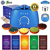 AVAA Professional Wax Warmer Set Hair Removal Depilatory Waxing Kit w/ Hard Wax