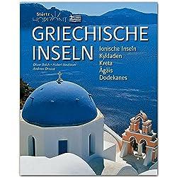 Horizont GRIECHISCHE INSELN - Ionische Inseln - Kykladen - Kreta - Agäis - Dodkanes - 160 Seiten Bildband mit über 280 Bildern - STÜRTZ Verlag Autovermietung Griechische Inseln