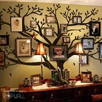 Giant Family Photo Frame Tree Wall Decal Diy Vinyl Wall Sticker For Baby  Kids Room Decoration (Color Black): Amazon.co.uk: Kitchen U0026 Home Part 66