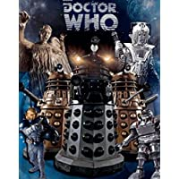 Doctor Who - Dr Who - Aliens - 3D Lenticular Poster Cyberman Dalek Weeping Angel