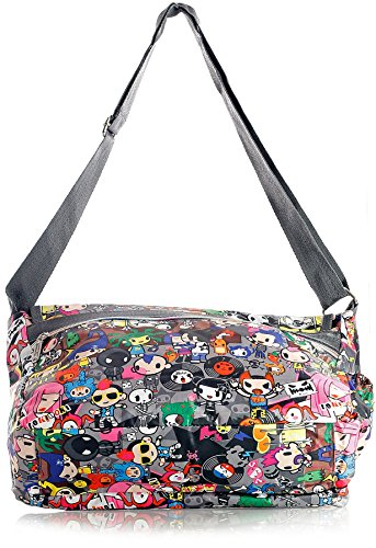 Big Handbag Shop - Sacchetto unisex Messenger 825 - Save The Planet
