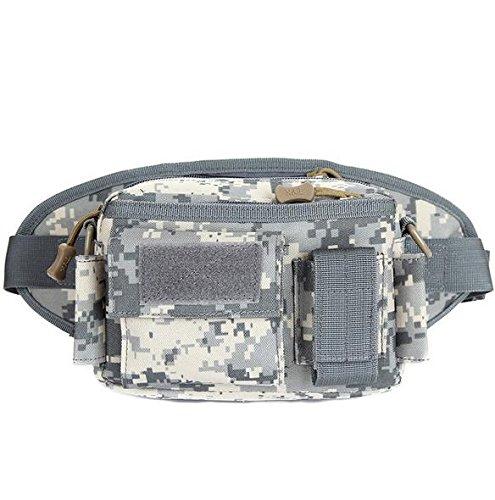 &zhou Kleine Taschen abnehmbar für den Einsatz im freien Männer und Frauen kombiniert Geldbörsen Bewegung Schulter Umhängetasche 5