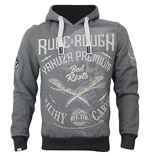 Yakuza Premium Sweatshirt YPH 2621 grau
