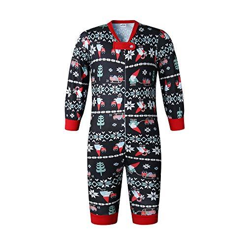 YOFASEN Pigiami Natale Famiglia - papà Mamma Bambini Stampato Indumenti da Notte Top e Pantaloni Set di Due Pezzi Body Bebè...