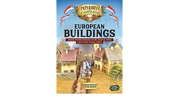 Buy European Buildings: 28mm Paper Models for 18th & 19th