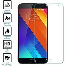 Protector de pantalla para el Meizu MX5 | Tanque prestiq Touch cristal pantalla/funda de protección protector de pantalla de alta calidad para el Meizu MX5 con vidrio templado, dureza 9H, 0,33 mm de grosor para protección óptima