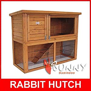 41 Rabbit Guinea Pig Hutch Run Runs Bb-41-ddu-11 from BUNNY BUSINESS
