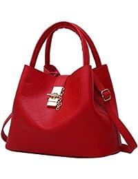 b015c4e3566d0 TUDUZ Handtaschen Damen Mode Taschen Leder Schultertaschen Umhängetaschen  Handtaschen für Frauen