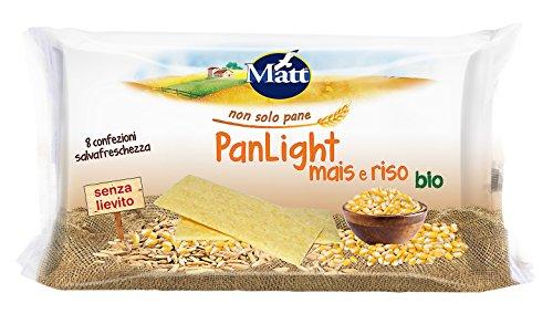 Matt Panlight Mais e Riso Bio - 200 gr - Grissini Italiani