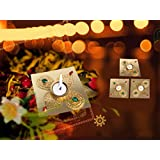 Set Of 4 Resuable Decorative Candle Stand – Wax Tea Light-Diwali Reusable Decorative Golden Candle Holder By Aica Gifts (3)