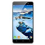 CUBOT Cheetah 5.5 Pouce Ecran 2.5D FHD IPS 4G Smartphone Android 6.0 MT6753 Octa Core 1.3GHz Mobile Phone 3GB RAM + 32GB ROM Double SIM Double Veille Téléphone Portable 5.0G WIFI Gris