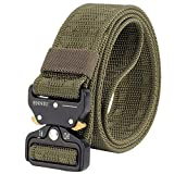 Outgeek Outdoor Belt Multifunctional Heavy Duty Training Web Belt Webbing Waist Belt