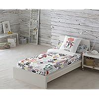 Cool Kids Saco nórdico sin relleno Tukan Blanco 3 A cama 90 cm
