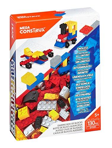 Preisvergleich Produktbild Medium Bausteine-Set (130 Teile) Boy Mega Bloks Construx