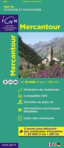 TOP75010 MERCANTOUR  1/75.000