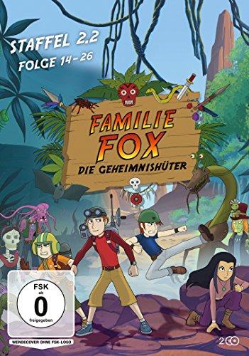 Familie Fox – Die Geheimnishüter Staffel 2.2 (Folge 14-26) [2 DVDs]