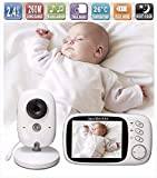Lullaby Bay Wireless Video Baby Monitor with Digital Camera. Anti-Hack Encryption. 3. 2