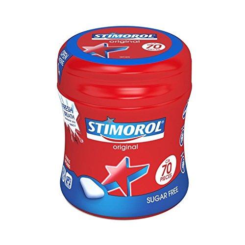 6 boites de 70 stimorol original